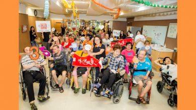Photo of Q版輪椅金剛現身 守護身障者「永不放棄.擁抱愛」