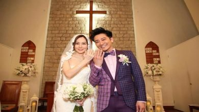 Photo of 孫耀威教堂完婚感動落淚 盼生小孩「越多越好」