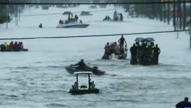 Photo of 56年來最強颶風哈維重創 美德州10死、680萬人受災