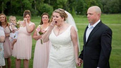 Photo of 聽見亡兒心跳聲 新娘婚禮感動淚崩
