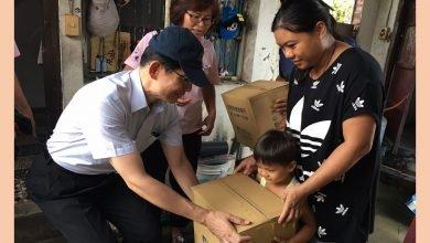 Photo of 尼莎、海棠雙颱之後 暖心送物資關懷受災戶