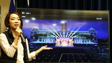 Photo of 國慶日系列活動 總統府首次光雕展演