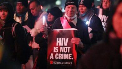 Photo of 嚇!加州通過新法案 故意傳播HIV由重罪改輕判