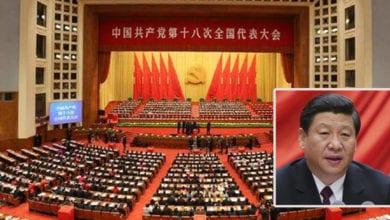 Photo of 中共十九大雨中開幕 習近平明示尊重台灣制度反「台獨」