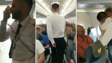 Photo of 「第一次載爸媽」 英機師謝父母恩惹哭200名乘客