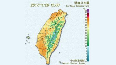 Photo of 把握今明好天氣 周四北部溫降轉雨