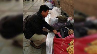 Photo of 北市社會局寒冬送暖 局長親訪街頭關心街友