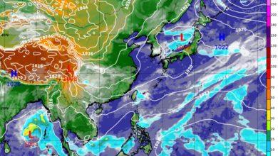 Photo of 冷氣團發威週末低溫 北台灣下看13度