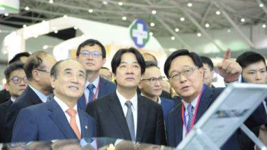 Photo of 賴清德出席台灣醫療科技展 王金平一同現身