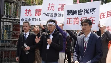 Photo of 抗議中選會實質審查 幸福盟向立委陳情「勿攔阻人民公投權利!」
