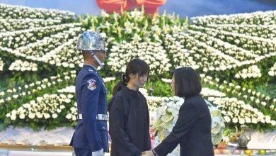 Photo of 殉職飛官吳彥霆公祭 妻:後悔沒有天天說我愛你