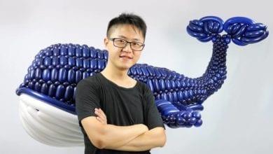 Photo of 「台灣藍鯨」摘美氣球賽冠軍 藝術家嘆在台只能領25K
