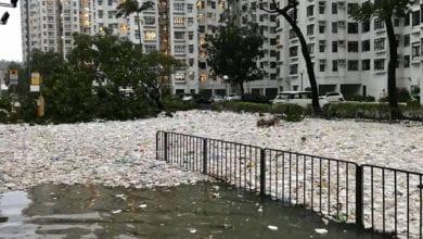 Photo of 大自然的報復!「山竹」遠離香港 路面卻留下滿滿海洋垃圾