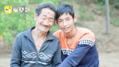Photo of 陸男荒野撿回瀕死殘疾嬰 26年後養子爬著掙錢買房報恩
