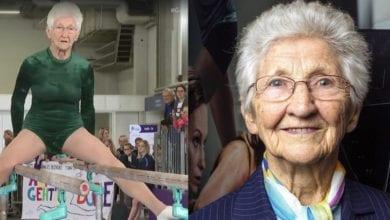 Photo of 地表上最靈活阿嬤!德92歲老奶奶「雙槓表演」破世界紀錄