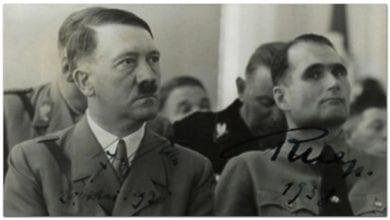 Photo of 美二戰報告揭希特勒為雙性戀 與助手赫斯發展親密關係