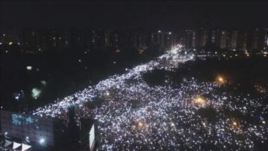 Photo of 岡山大會師破10萬人 韓國瑜:民進黨不是高雄的爸爸,人民才是