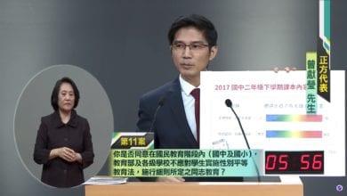 Photo of 公投辯論/首場「反同志教育」 電視辯論會懶人包