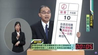 Photo of 公投辯論/不要動民法!曾品傑:同性二人共同生活權益,透過婚姻以外形式保護