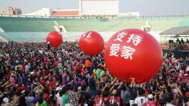 Photo of 高雄愛家總動員近萬人聚集中正體育館 捍衛一男一女、一夫一妻婚姻家庭價值