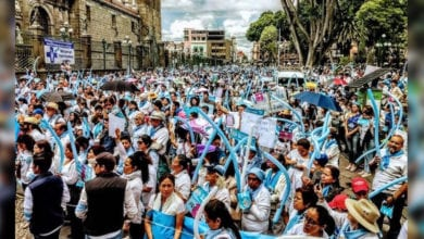 Photo of 墨西哥100城巿連線10萬人站街頭 抗議墮胎合法化