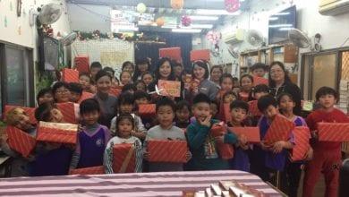 Photo of 企業聖誕鞋盒傳愛 送出7900個祝福與驚喜