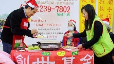 Photo of 馬英九訪清寒植物人 呼籲大家捐出尾牙紅包