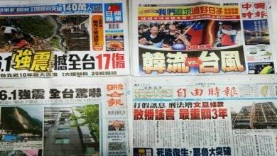 Photo of 4月19日各報頭條摘要彙整
