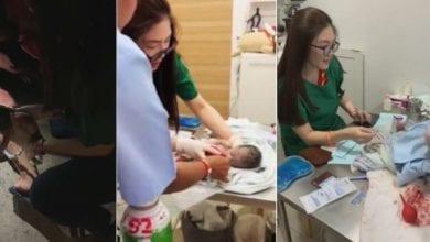 Photo of 孕婦街上臨盆胎兒無心跳 泰美女獸醫即刻救援嚇呆:這是我的第一次