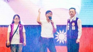 Photo of 受邀韓國瑜造勢大會 曾獻瑩:人民重視的是婚姻家庭!