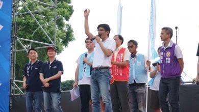 Photo of 反鐵籠公投大會師 愛家公投提案人曾獻瑩:「主權在民,人民才是國家的主人!」
