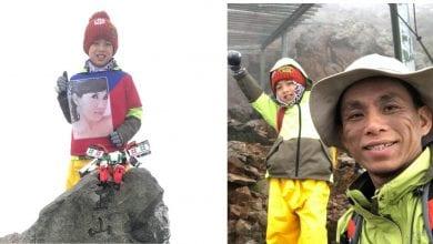Photo of 宜蘭8歲童攜母遺照登玉山 想離天堂近一點讓她看到!