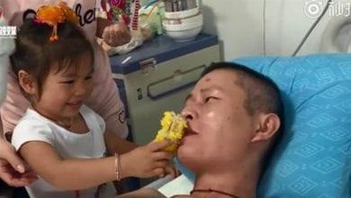 Photo of 男誤觸高壓電四肢截肢 3歲女兒一句話他淚崩放棄輕生念頭