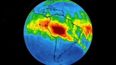 Photo of 接近「永遠無法恢復的臨界點」!NASA:空汙嚴重,大量一氧化碳從巴西傳出