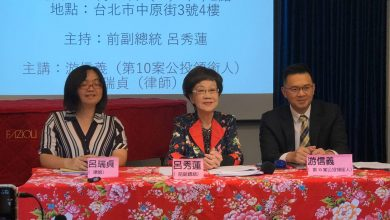 Photo of 呂秀蓮:婚姻不是自由和人權 籲政府落實765萬民意