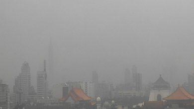 Photo of 入秋首波沙塵暴來襲! 北部空氣品質最差 環保署:外出應配戴口罩