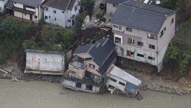 Photo of 強颱哈吉貝重創日本 74死218傷、萬棟民宅淹水