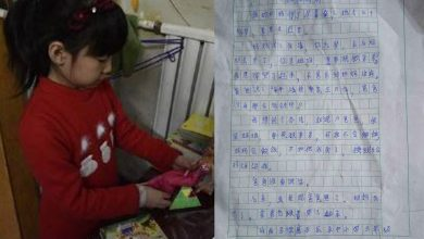 Photo of 不捨!10歲女童為救媽媽 寫作文:賣我換錢吧!