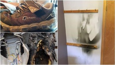 Photo of 生日派對突冒大火 兇手疑似5歲兒愛穿的「發光鞋」