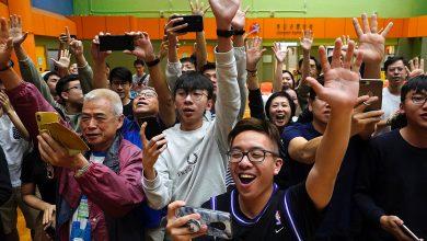 Photo of 2019年11月26日各報新聞重點彙整 主題新聞:香港泛民派大勝