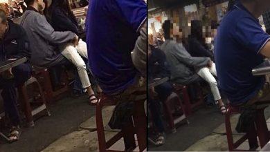 Photo of 女童坐大腿上、中年男手摳下體摸大腿內側 網友疑惑:不舒服、怪怪的