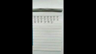Photo of 兒子寫「足」字竟變武功!網笑讚練武奇才:維護世界和平就靠你了