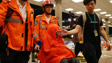 Photo of 瘋狂之後的死寂!香港理大如廢憈 示威者精神出狀況