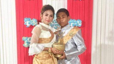 Photo of 柬埔寨14歲少年娶21歲女 網友喊:他還只是個孩子