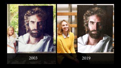 Photo of 美天才畫家8歲繪耶穌像 《和平之子》16年後再現