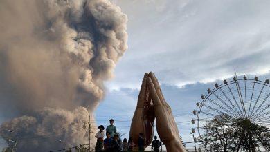 Photo of 菲律賓火山噴發急撤居民 馬尼拉機場暫關閉
