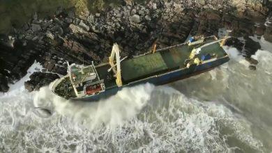 Photo of 現代神鬼奇航》神祕無人船遭暴風吹上愛爾蘭岸邊 竟然是這兒漂來的…