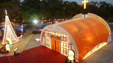 Photo of 靜宜大學「主顧聖母堂」 台灣燈會發光為民眾祈福