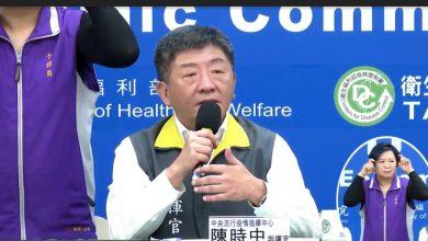 Photo of 台灣進入鎖國狀態! 陳時中:非本國籍3/19起限制入境