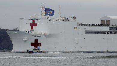 Photo of 美國確診破16萬!紐約超過千人死亡 野戰醫院、醫療船增援重災區